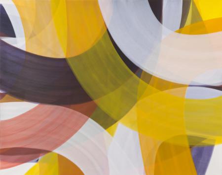 O.T., 2016  Acryl auf Nessel,  150 x 190 cm