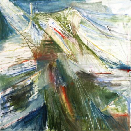 She, 2011, Öl auf Leinwand,  160x160 cm