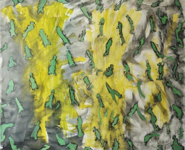 Matthias Schönfelder, Green Leaves-Adam, 2009