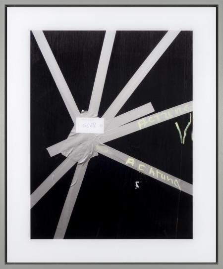 Achtung aus der Serie Berlin 2011/ 16  (90 cm x 110 cm x 6 cm)