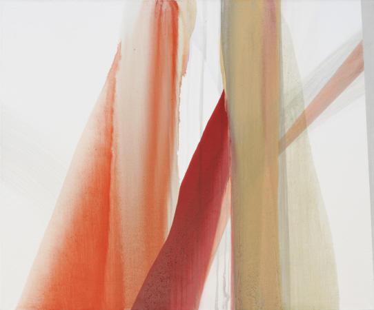 light slit, 2009 Öl auf Leinwand 150 x180 cm