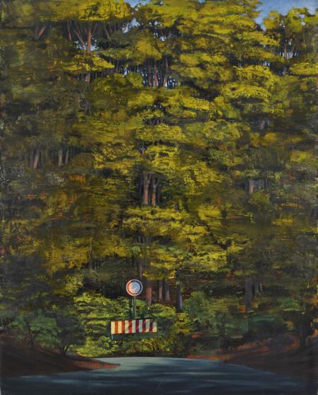 Kurve, Öl auf Leinwand, 170 x 210 cm, 2008