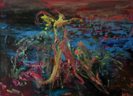 Boreas, 2009,  Öl auf Leinwand,  50x70 cm