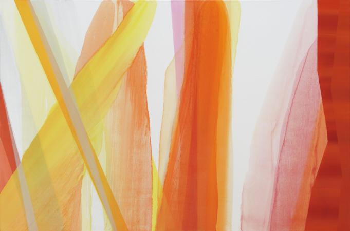 hardening, 2009 Öl auf Leinwand 180 x 270 cm