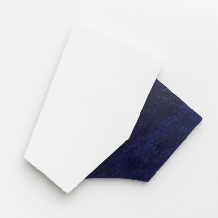 ohne Titel, 1993,  Öl /Acryl auf Holz,  50 x 50 cm