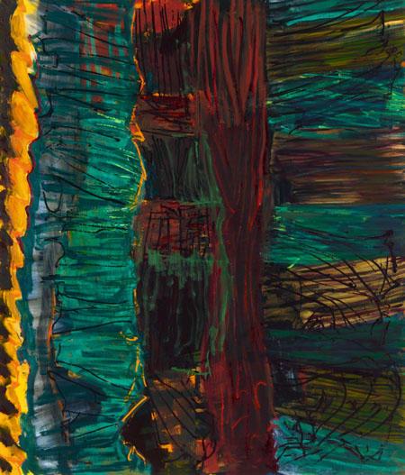 Ohne Titel, 2005 Öl auf Leinwand 200 x 170 cm