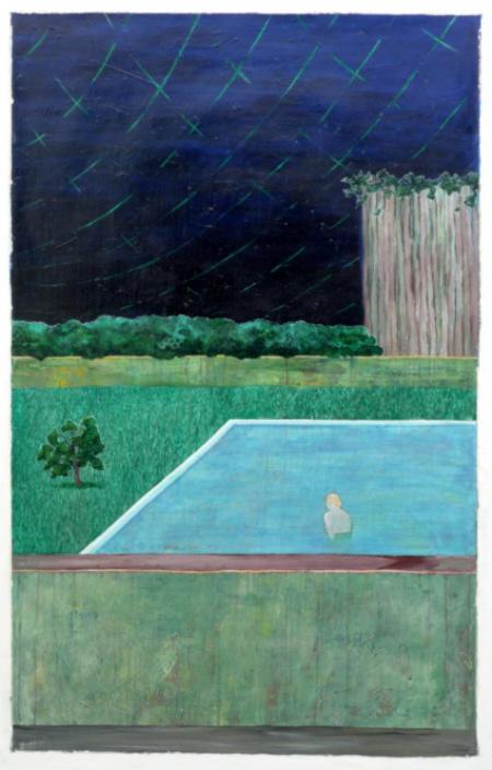 "Aus der Serie  ""12 Golden Country Greats"",  Nr. 1, 2008 170 x 112 cm"