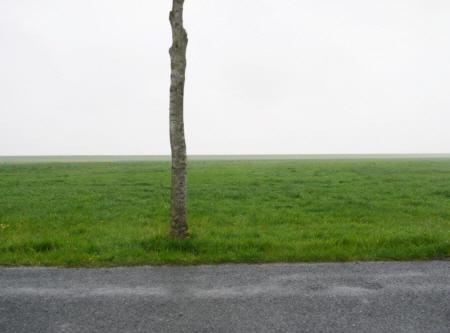 Varel Deich 544, 2010,  Foto hinter Plexiglas,  kaschiert auf Dibond,  75 x 100 cm