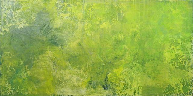 Oriental Garden, 2010 Öl auf Leinwand 100 x 200 cm