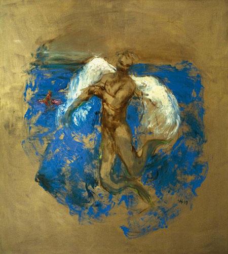 Boreas, 2009 Öl auf Leinwand 180 x 160 cm