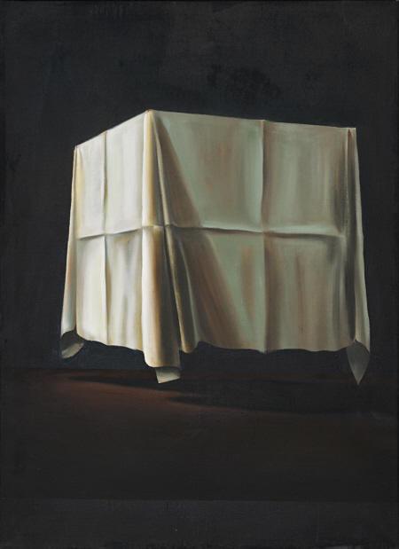 Tisch, Öl auf Leinwand, 110 x 80 cm, 2009