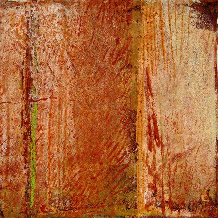 Fiorentina 3, 2009, Öl und Wachs auf Leinwand (20 x 20 cm)