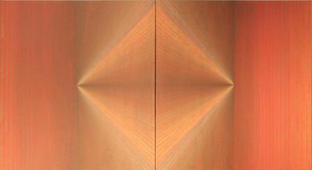 """Nähe und Ferne"", 2011,  Diptychon, Acryl/Leinwand,  je 100 x 180 cm"