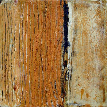 Fiorentina 2, 2009, Öl und Wachs auf Leinwand (20 x 20 cm)