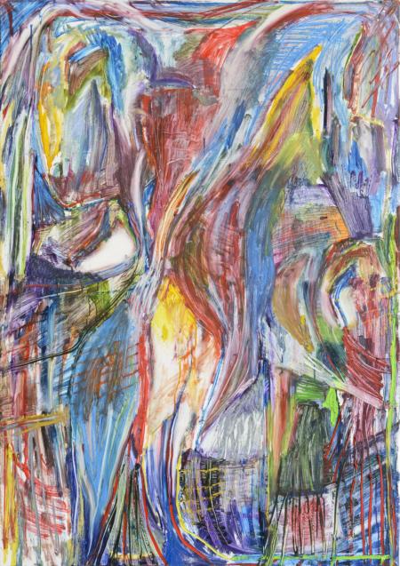 Sysy, 2013,  Öl auf Leinwand,  170 x 120 cm